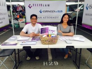 Los Angeles personal injury attorneys - LA swap meet