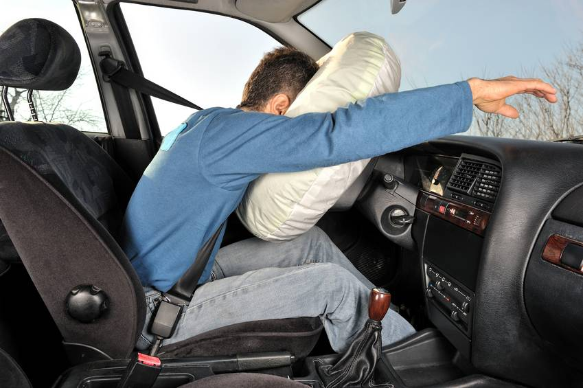 How Airbags Increase Accident Survival