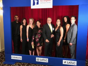 Ellis Law Firm Supports LATLC Casino Night